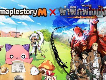 MapleStory M x Attack on Titan1