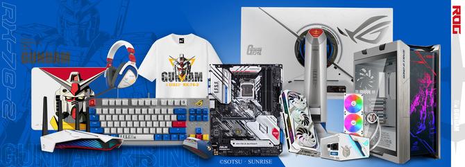 Asus ร่วมกับ Gundam ออก Gaming PC
