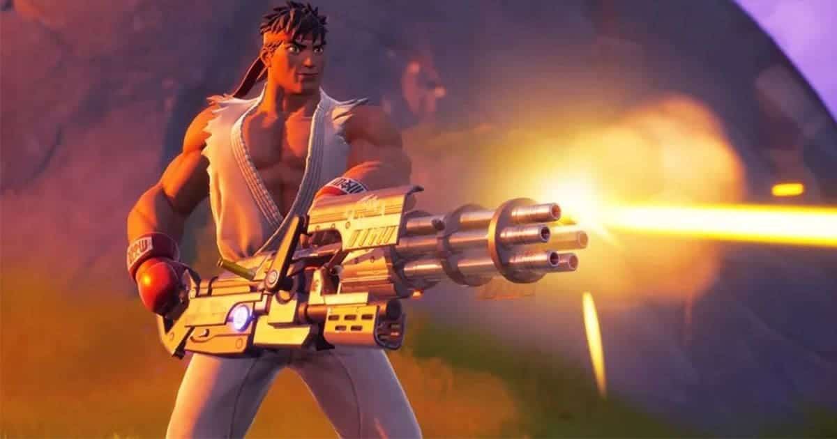 Ryu และ Chun-li จาก Street Fighter เข้าร่วมศึกใน Fortnite!