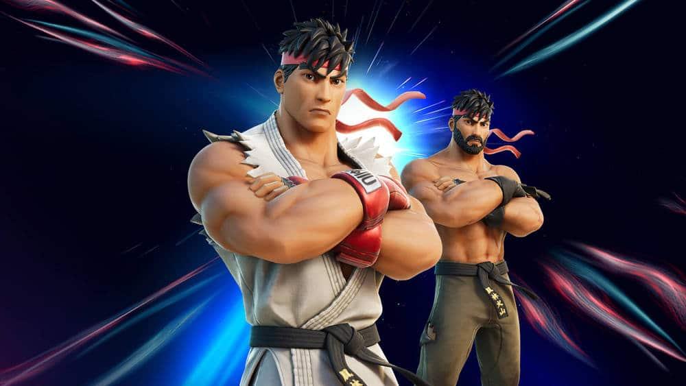 Ryu จาก Street Fighter เข้าร่วมศึกใน Fortnite
