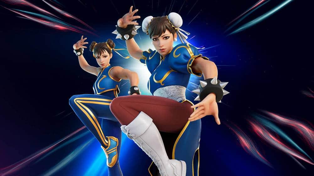 Chun-li จาก Street Fighter เข้าร่วมศึกใน Fortnite