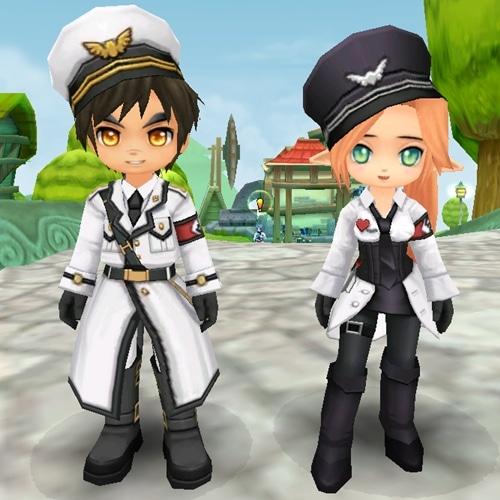 ตัวอย่างชุดเซ็ททหารขาว