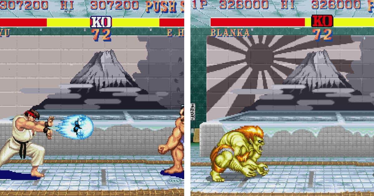 Street Fighter 2 ฉบับที่ลง Switch