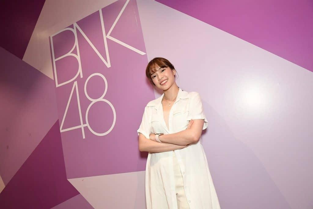 เฌอปราง กัปตันวง BNK48