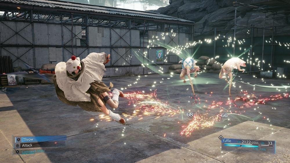 Final Fantasy 7 Remake Yuffie
