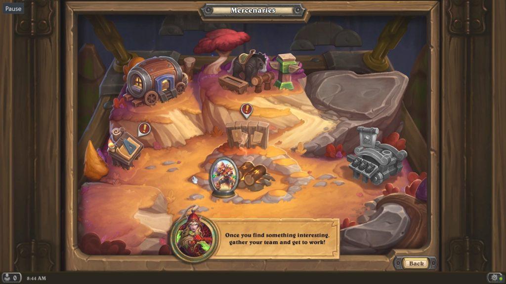 Hearthstone: Mercenaries